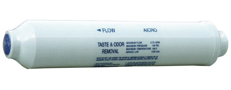 Aktyvuotos anglies kasetė AICRO inline