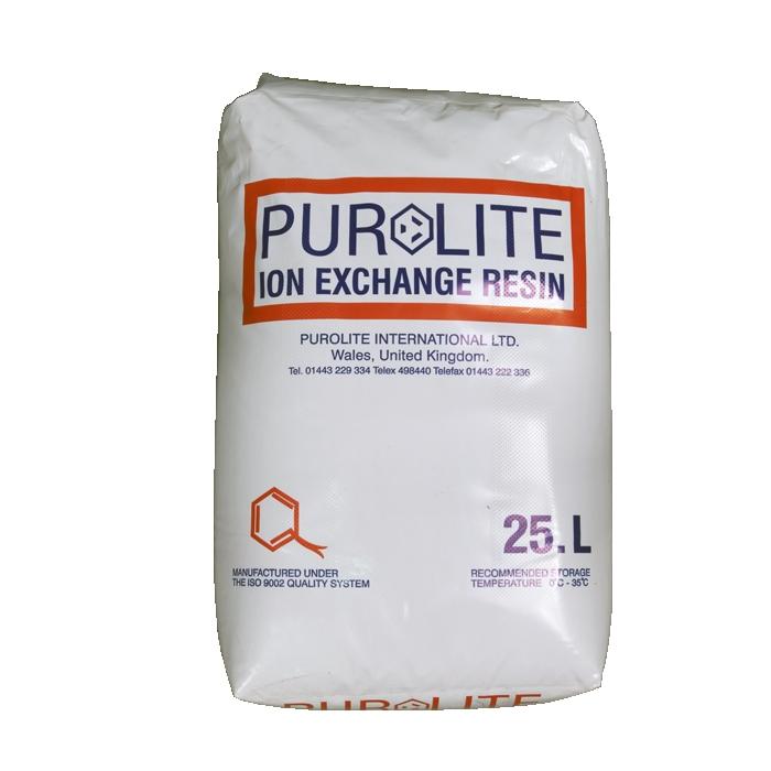 Minkštinimo filtro užpildas katijonitas Purolite C-100E