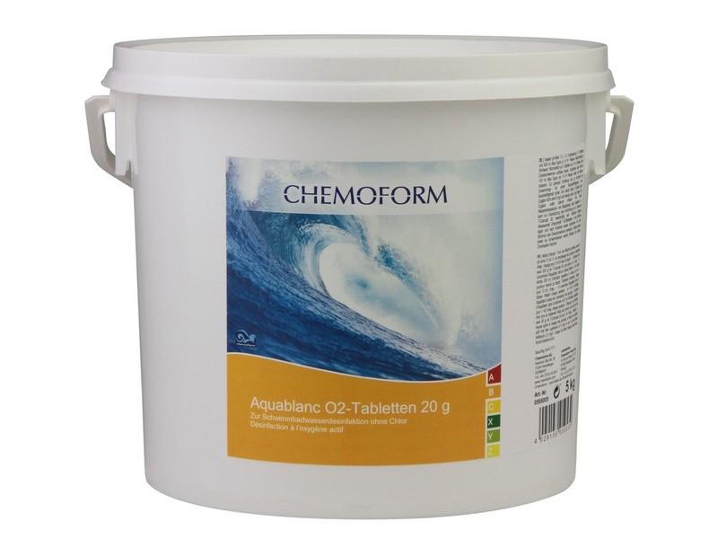 Aktyvaus deguonies tabletės 20g, 5kg Aquablanc